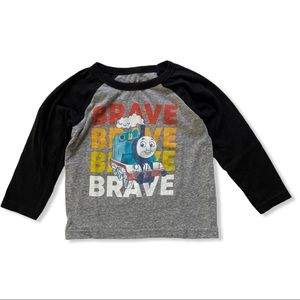 """Jumping Beans Thomas The Train """"Brave"""" Graphic Tee"""